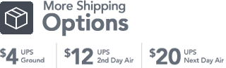 More Shipping Options