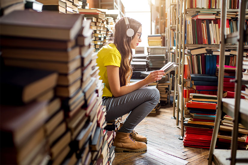 Your College Library Can Help You Save on Entertainment
