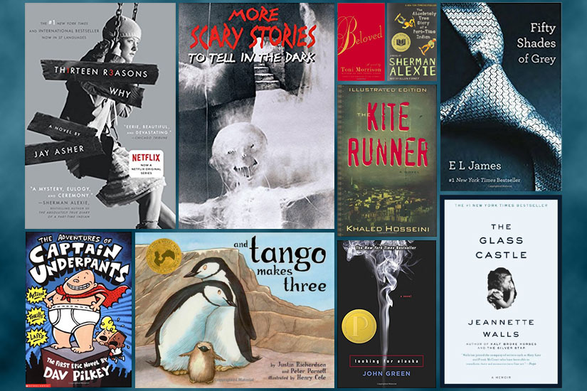 Banned Books Week 2013: Top 10 Banned or Challenged Books
