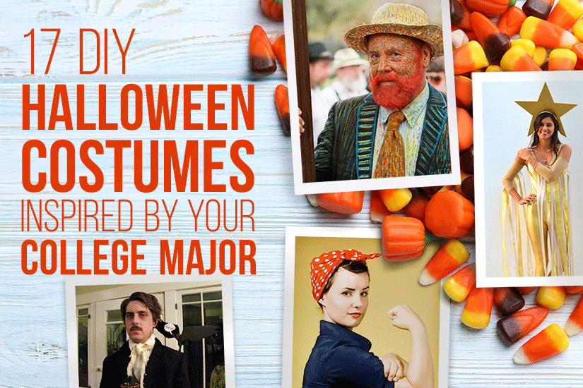 17 DIY Halloween Costumes Inspired by Your College Major  sc 1 st  Textbooks & 17 Halloween Costumes Inspired by Your College Major