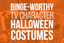 easy halloween costume ideas based on tv characters