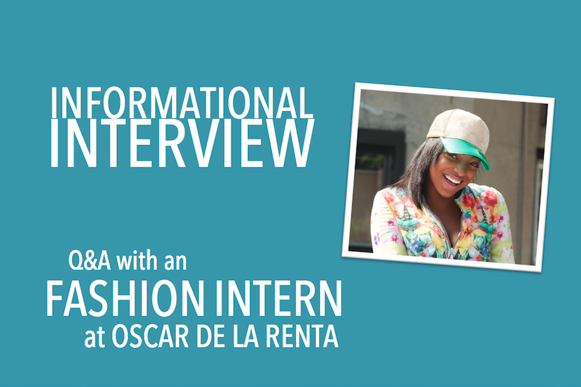 Q&A with a Fashion Intern at Oscar de la Renta