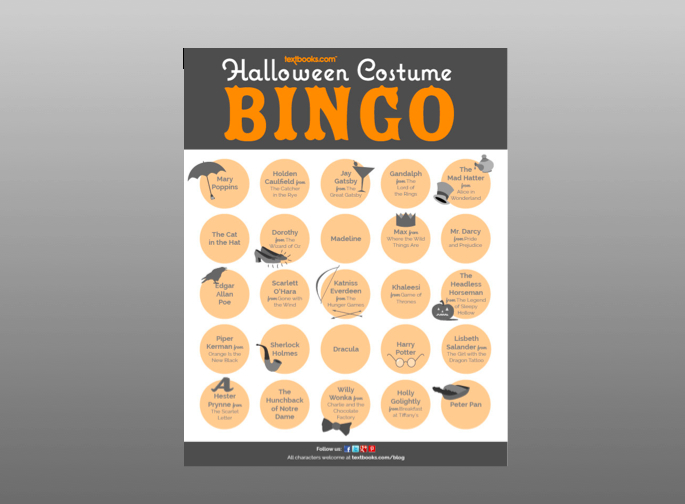 Get Into Character with Our Halloween Costume Bingo Card