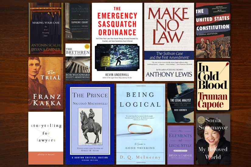 14 Books Every Law Student Should Read