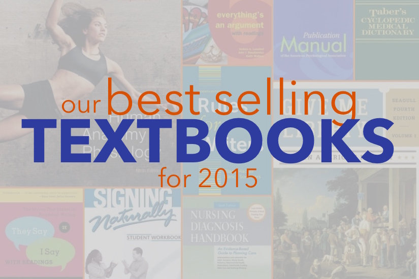 10 Best Selling Textbooks - Fall 2015