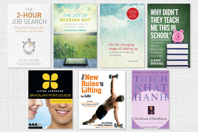 Self Help Books to Help You Stick To Your Resolution