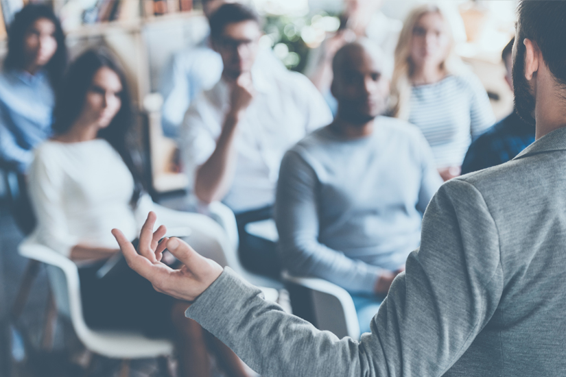 How to Get Over Your Fear of Public Speaking with tips by Public Speaking Coach Jennifer Doody