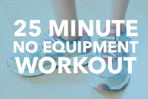 25 Minute Dorm Room Workout At Home