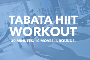 Tabata Workout HIIT Workout at Home