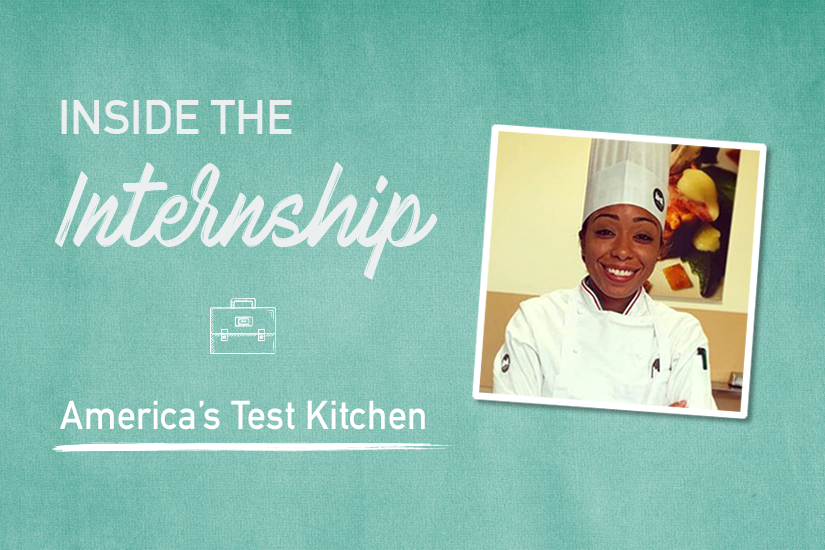Go Inside America's Test Kitchen with a Culinary Arts Intern