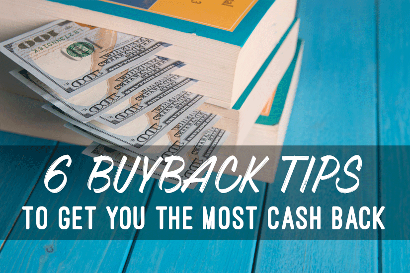 6 Buyback Tips to Sell Your Textbooks