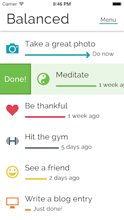 Balanced App 5 Motivation Apps on the Textbookscom Blog