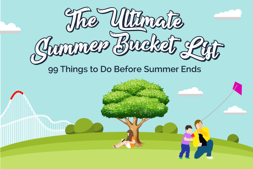 Summer Bucket List: 99 Things to Do This Summer