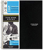 Mead Five Star | Best Notebooks for College Students on the Textbooks.com Blog