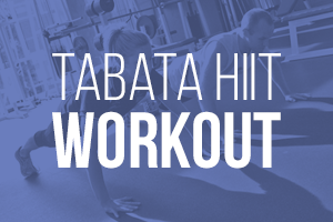 HIIT IT: A KICKBUTT TABATA WORKOUT TO DO AT HOME