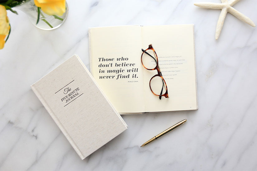 Take Five: How a 5 Minute Journal Can Change Your Life