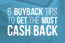 How to Get More Cash for Your Buyback Books