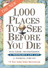 Travel More New Year Goals 1,000 Places to See Before You Die by Patricia Schultz