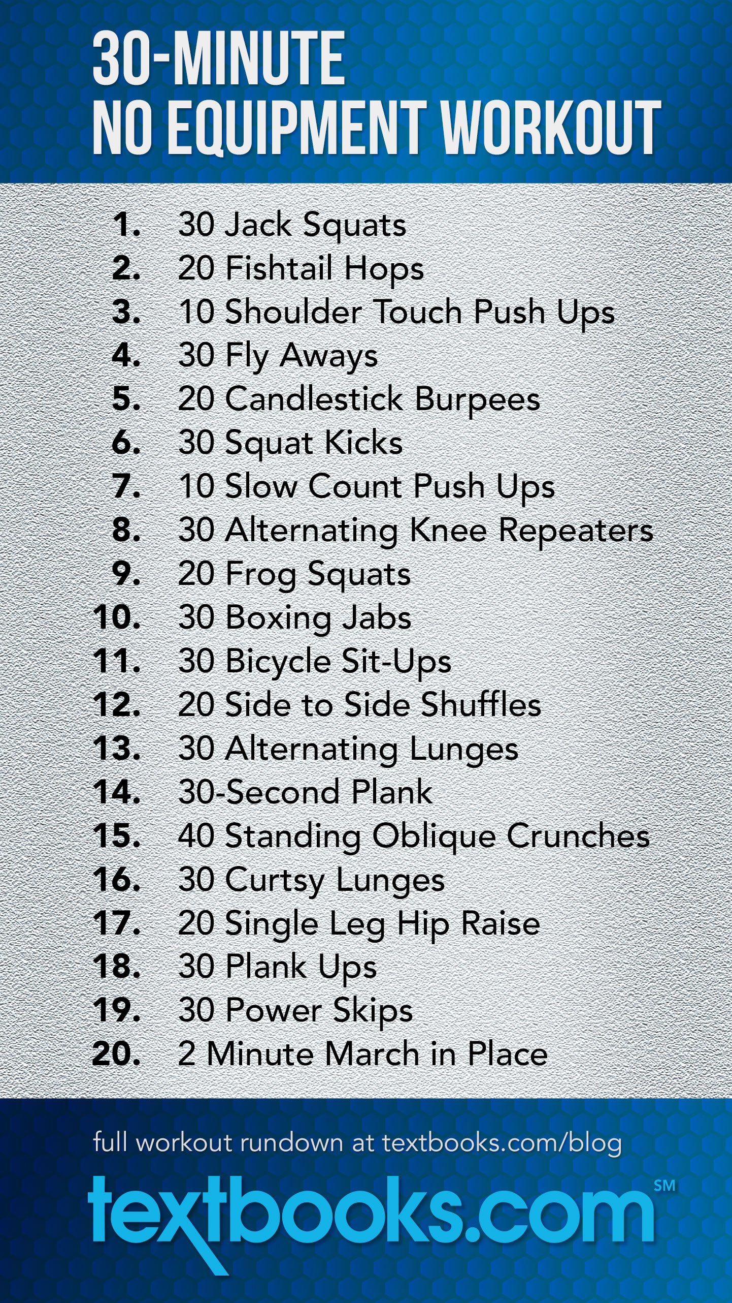 30 Minute No Equipment Workout You Can