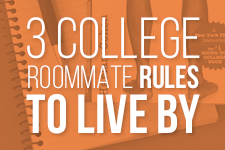 Only 3 College Roommate Rules You Need Textbooks.com Blog Harlan Cohen