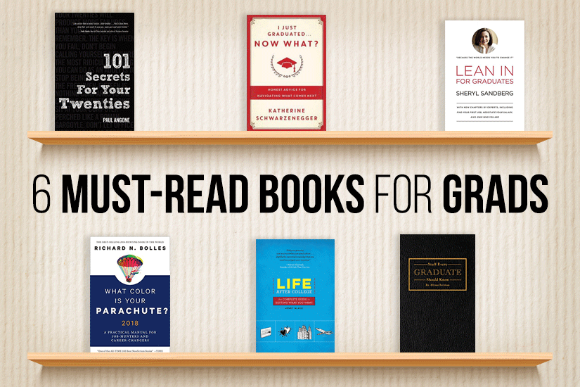 6 Must-Read Books for Graduates