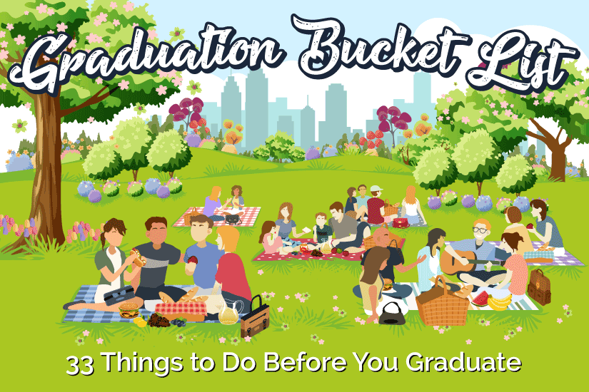 College Bucket List: 33 Things to Do Before You Graduate College