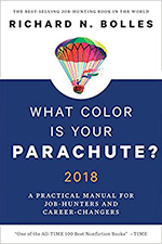 What Color Is Your Parachute? by Richard Bolles 2018-18 Edition 9780399579639