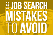 8 Job Search Mistakes to Avoid