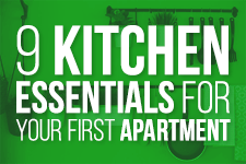 9 Kitchen Essentials for Your First Apartment