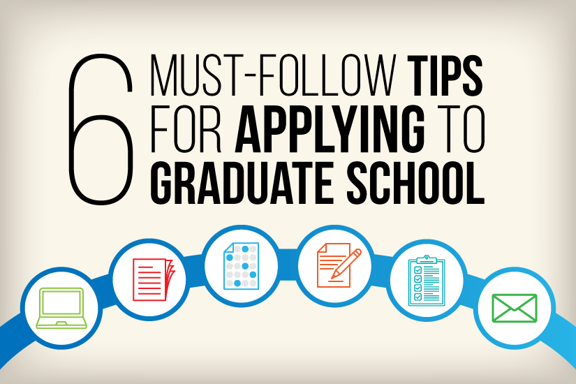 tips for applying to graduate school timeline checklist princeton review