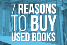 7 reasons buy used books