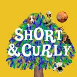 short and curly podcast logo