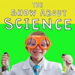 the show about science podcast logo
