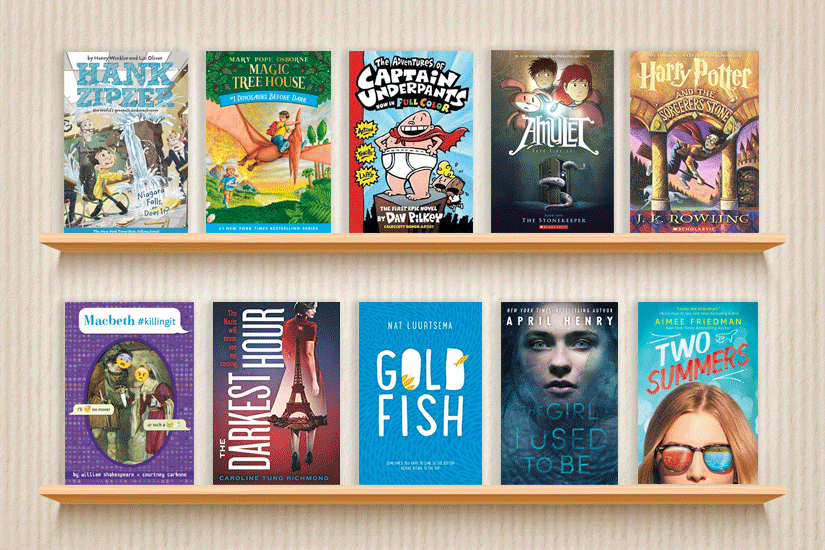 10 Books to Engage Young Readers