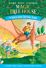 Magic Tree House #1 - Dinosaurs Before Dark 9780679824114 Mary Pope Osborne